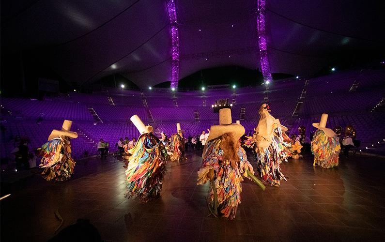 La Guelaguetza, una tradición ancestral se vive en la virtualidad.