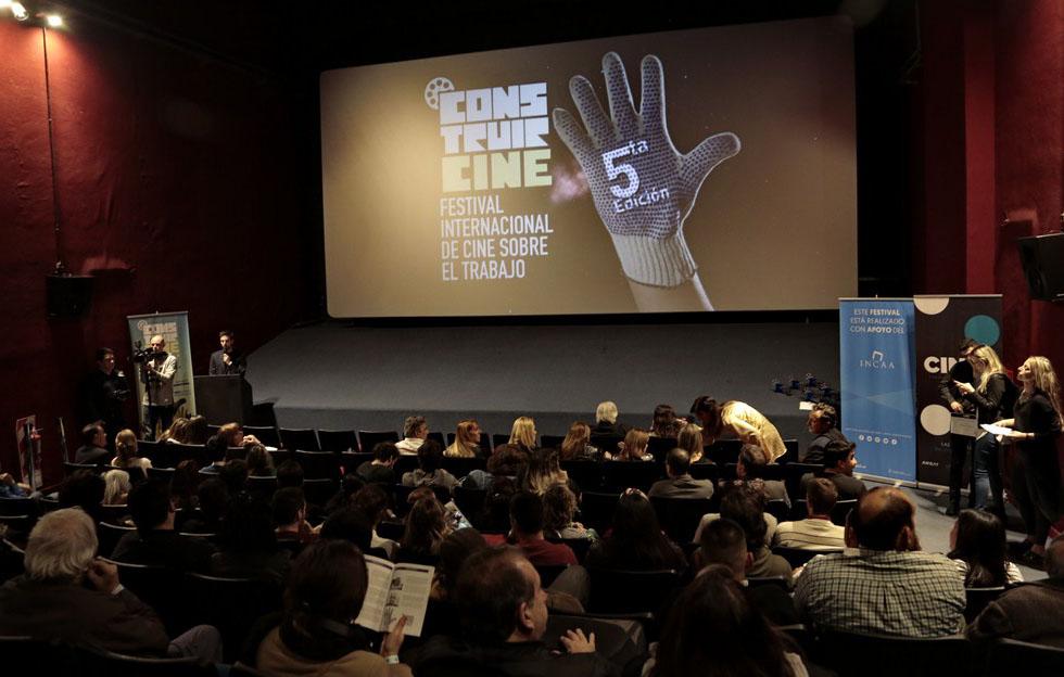 Séptima Edición de Construir CINE, Festival Internacional de Cine sobre el Trabajo