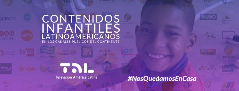 Conteúdo infantil latino-americano nas telas dos canais públicos do continente