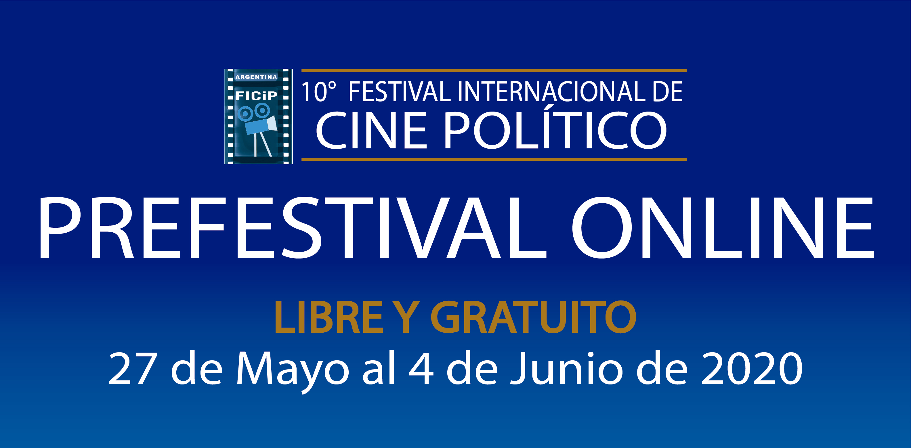 10th edition of the International Political Film Festival holds an online Pre-festival